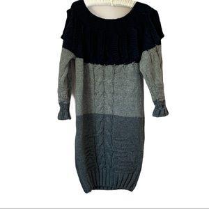Elliatt Block Color Sweater Dress